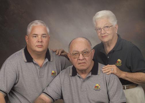 Bob, Ray, and Lavern Stallings