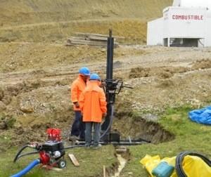 Perforación para piezómetros ó pozos de observación, DMG Drilling Perú.