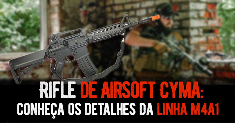 Rifle de Airsoft Cyma