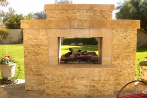 Exterior Fireplace