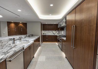 large kitchen storage