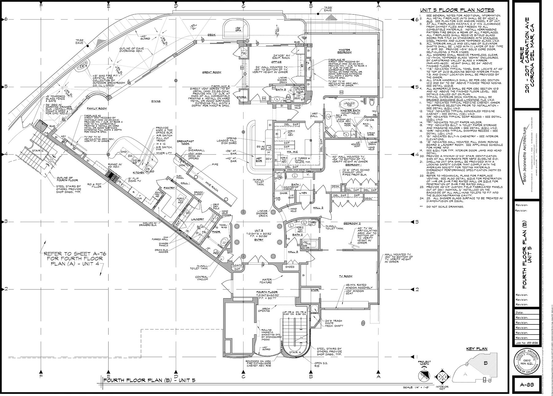 unit 5 floor plans