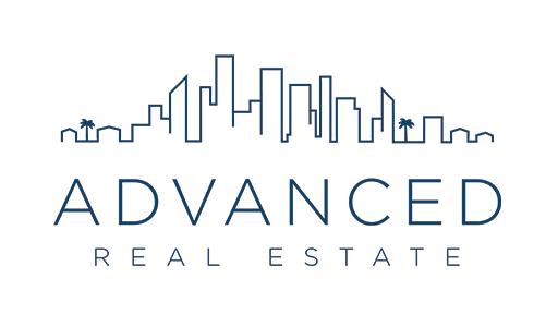 advanced real estate logo