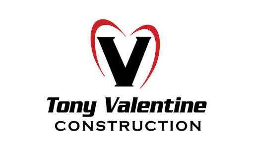 tony valentine construction logo