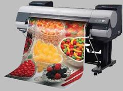 Wide format color printing