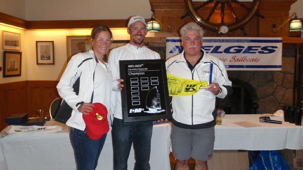 2014 Blackline Marine Canadian Melges 24 Champions