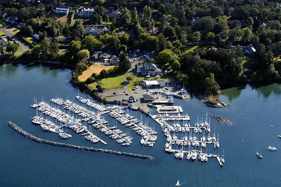 Royal Victoria Yacht Club, BC, Canada