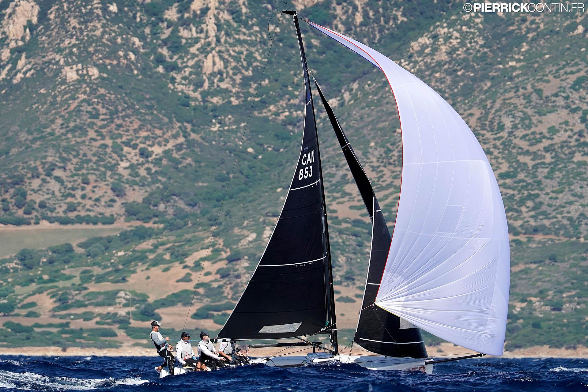 CAN-853 Zinfara at 2019 Melges 24 World Championship