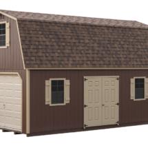 high wall barn 2 story