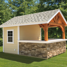10x12 A-Frame Sea Side Bar - Siesta Pool House