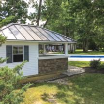 10x16 Sea Side Bar- Siesta Pool house