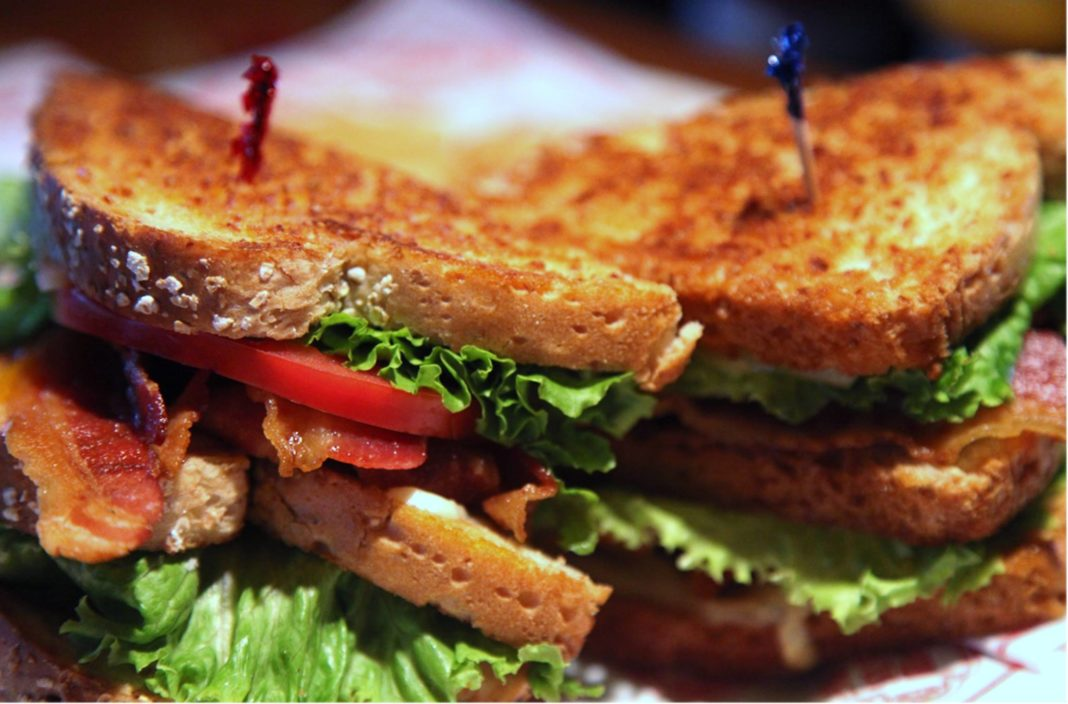 Yummy sandwiches at 54th Street Grill