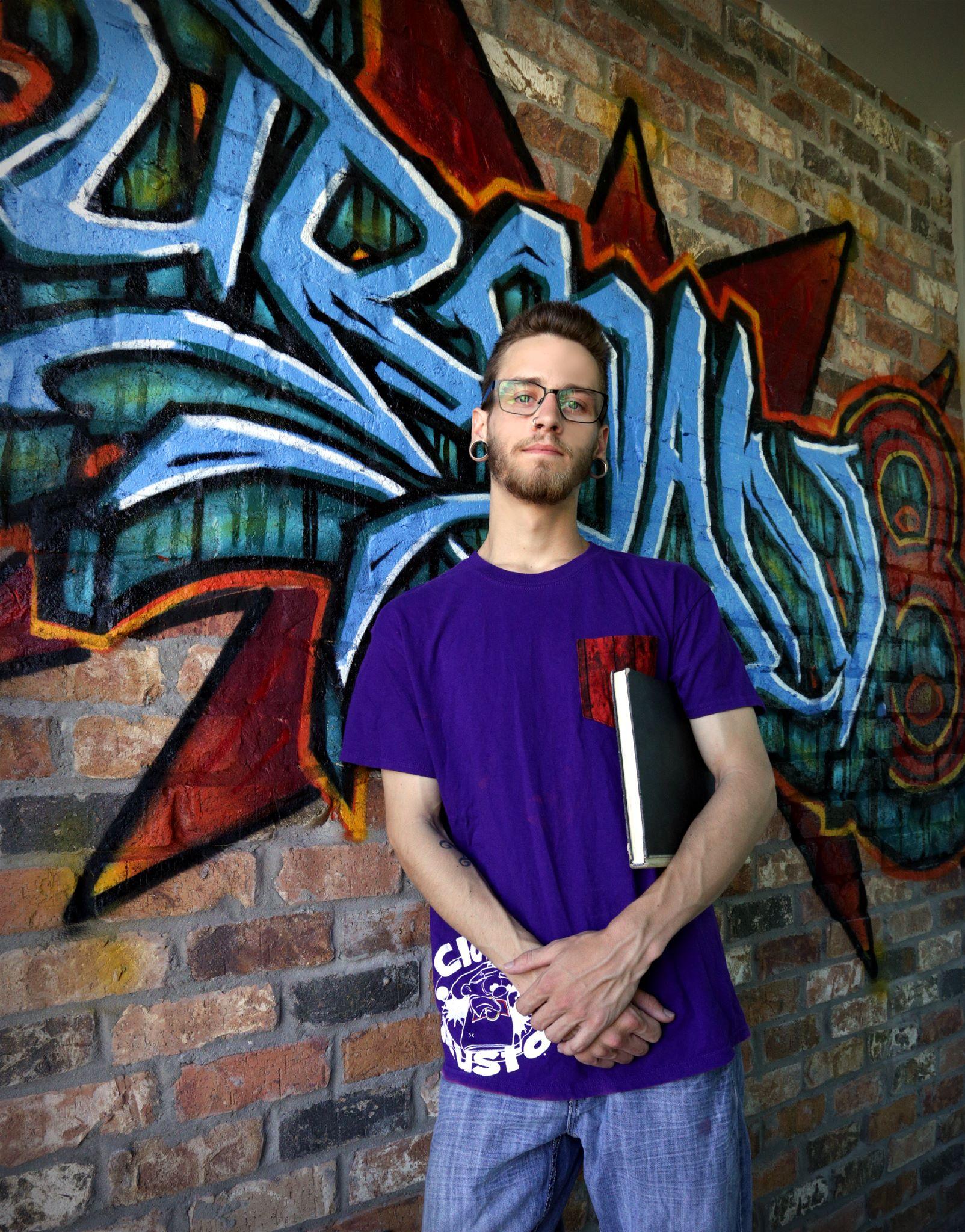 Graffiti artist Beau Raines