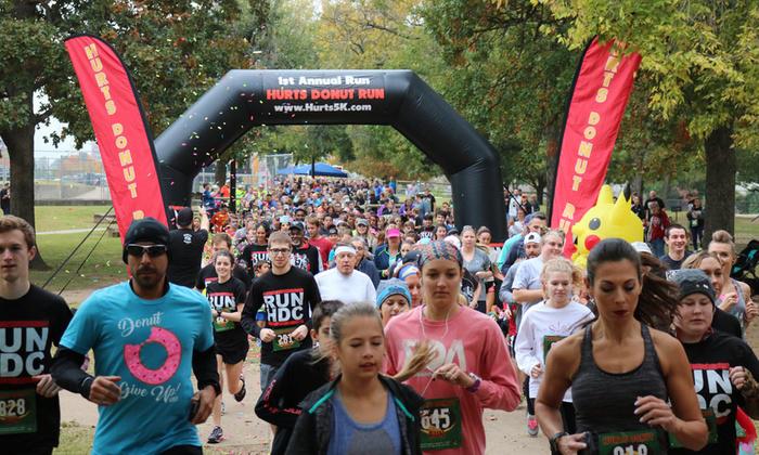 2nd annual Donut Run