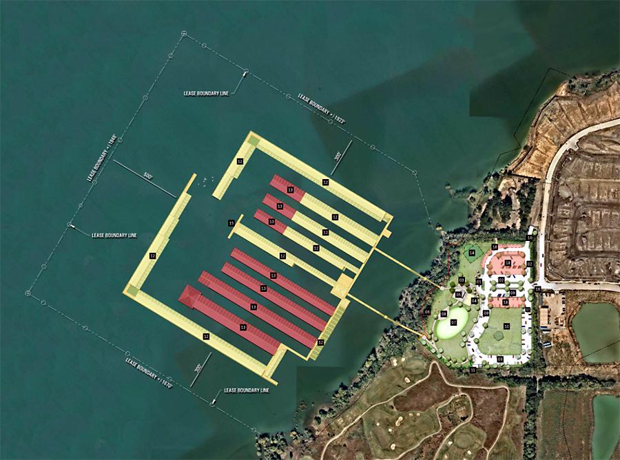 Wynnwood Marina proposal in The Colony, TX