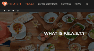 Families Empowered And Supporting Treatment for Eating Disorders. But you can just call us F.E.A.S.T.