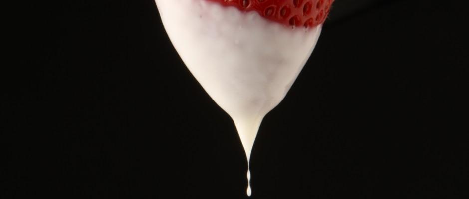 Strawberry Yogurt Bites