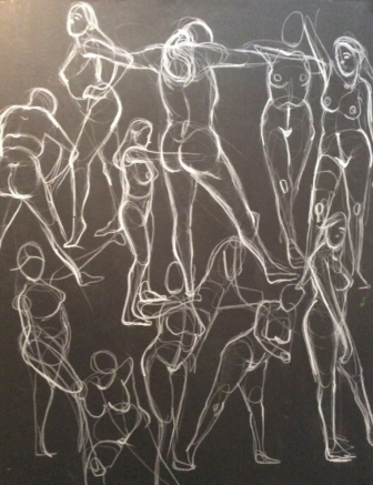 A Crowd of Poses