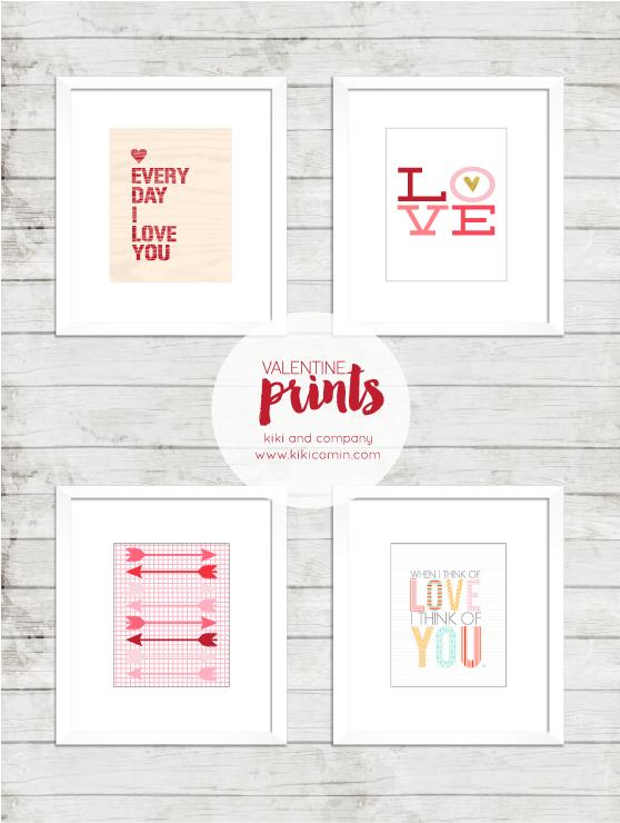 Valentines Prints at Kiki and Company. Cute!