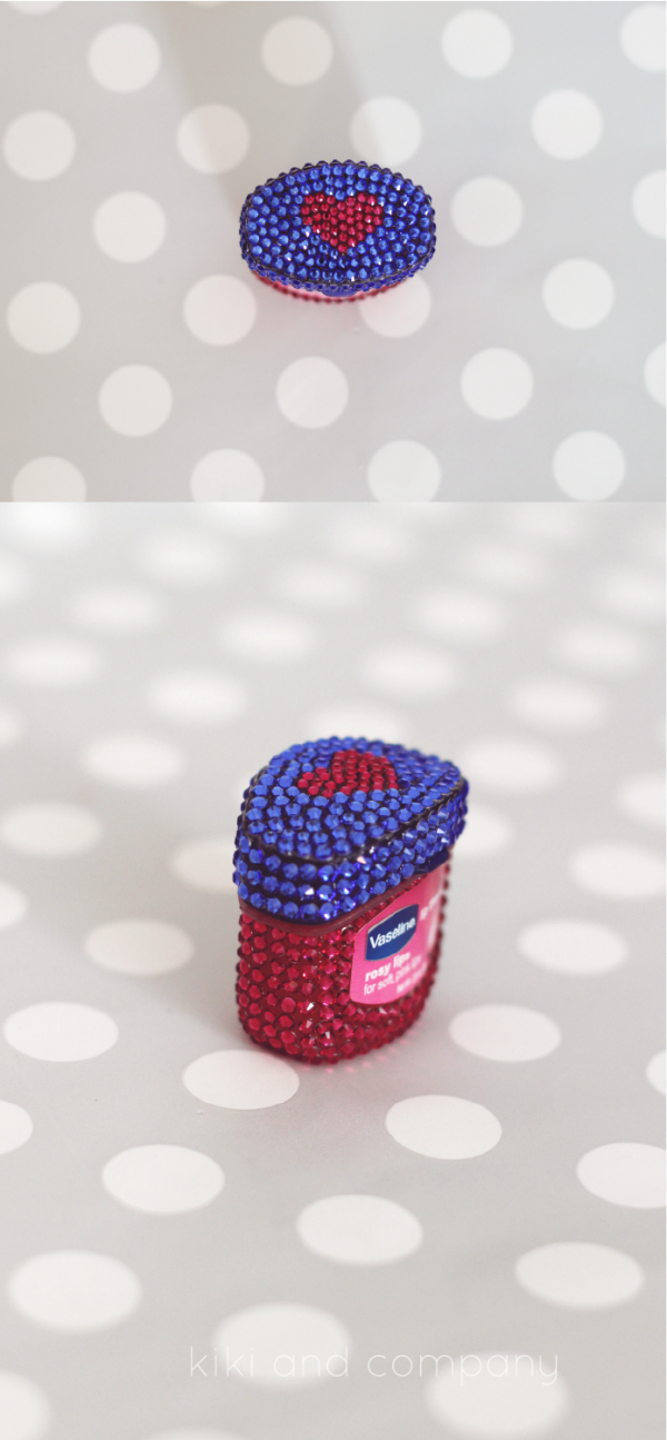 Vaseline Rose Therapy Lips. LOOK at that packaging!
