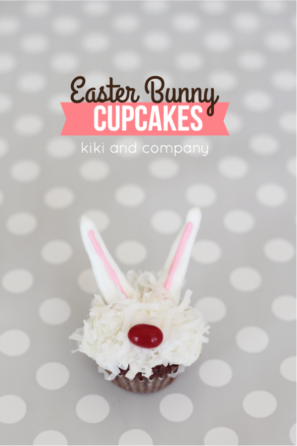 Cupcakes- Easter Bunny 1