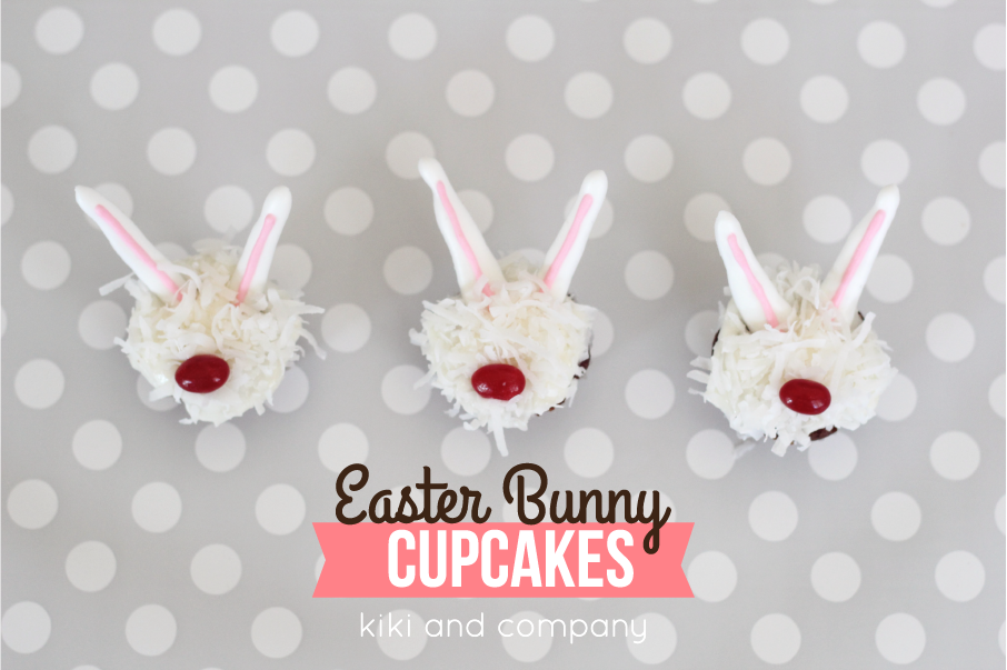 Cupcakes- Easter Bunny 2