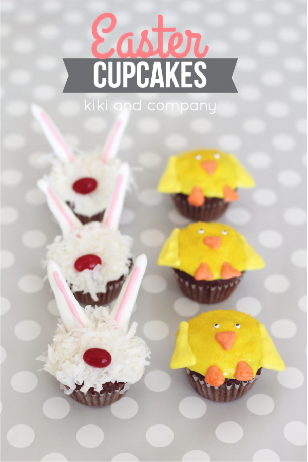 Cupcakes- Easter Bunny and Chicks