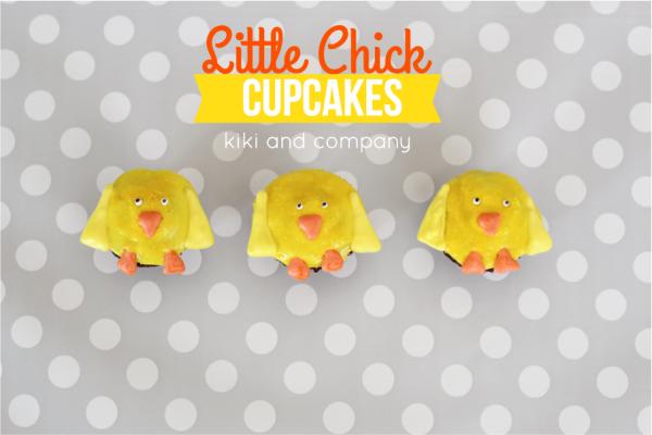 Cupcakes- Little Chicks