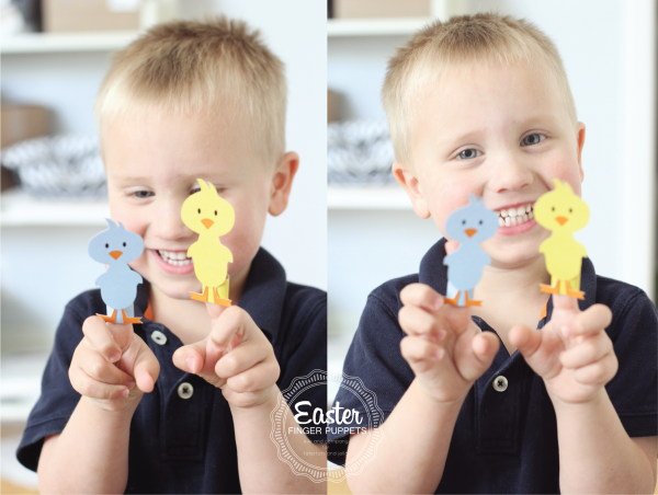 Free Easter Finger Puppets at tatertots and jello.