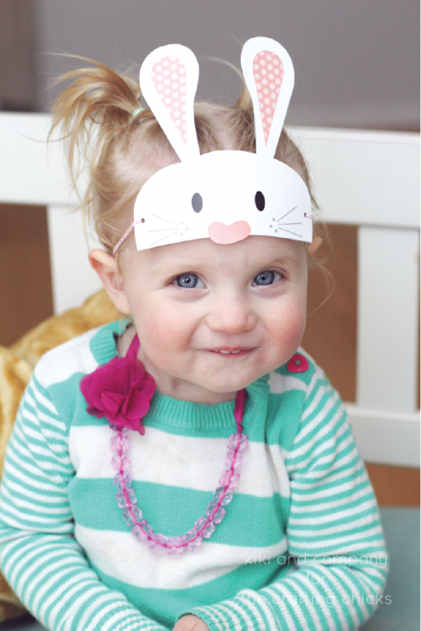 Free Easter Masks at the crafting chicks. SO CUTE!