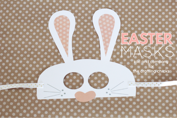 Free Easter Masks at the crafting chicks.