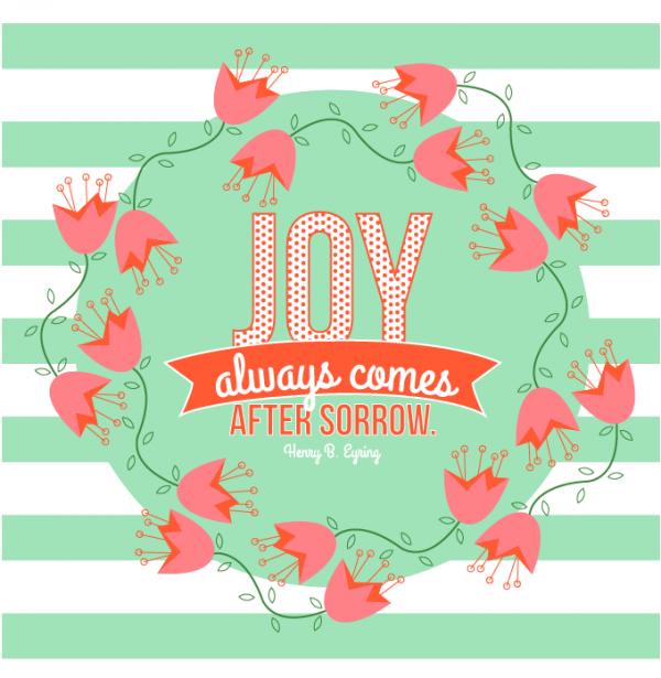 General Womens Meeting-Joy always comes after sorrow