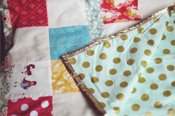 Instagram Baby Shower. Love this quilt