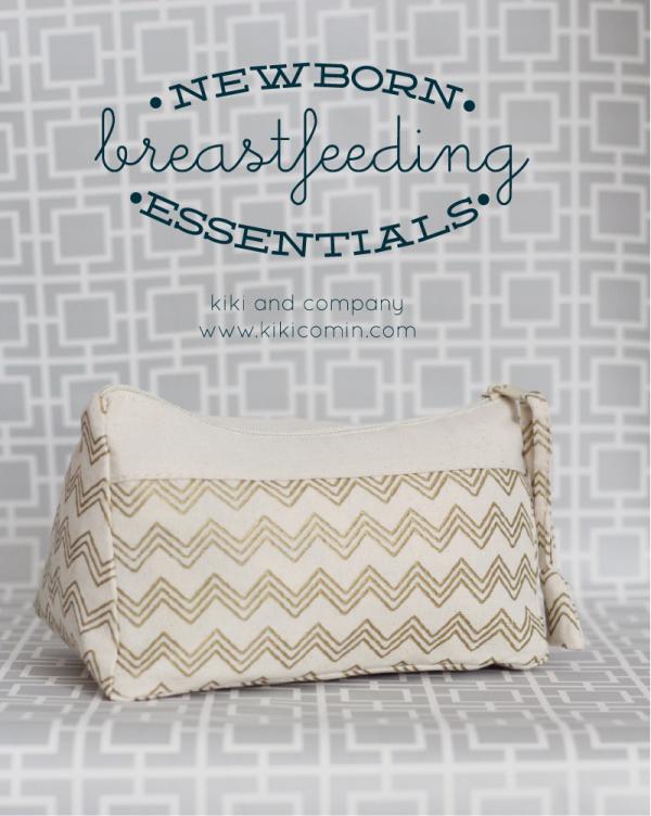 Newborn Breastfeeding Essentials at kiki and company.