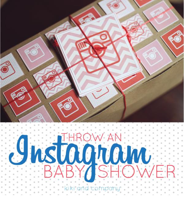 Throw an Instagram Baby Shower