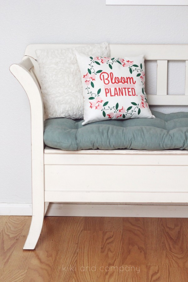 Make your own pillow at kiki and company