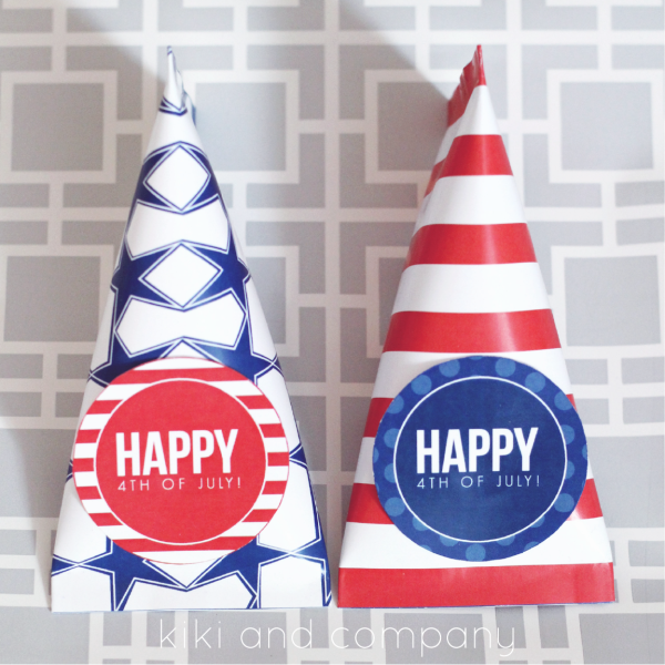 Fourth of July Treat Wrapper