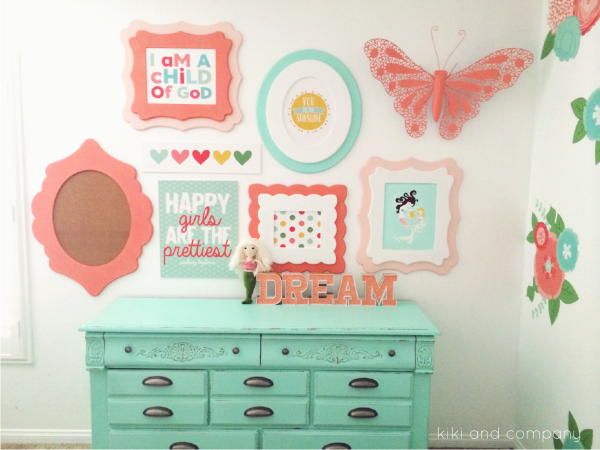 Girl's Room Makeover at Kiki and Company. 5