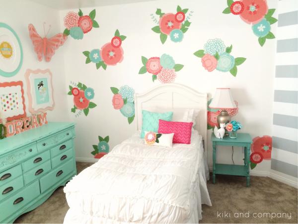 Girl's Room Makeover at Kiki and Company.2