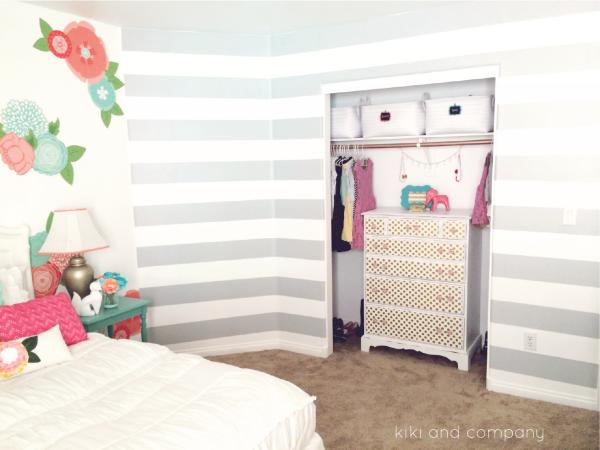 Girl's Room Makeover at Kiki and Company.3