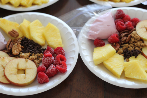 wholesome snacking with yoplait yogurt. yum!