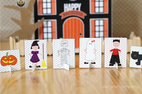 Halloween Doll House from kiki and company. SO fun!