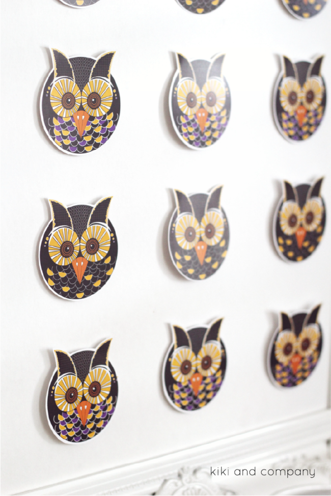 Owl Specimen Art from kiki and company.love this!