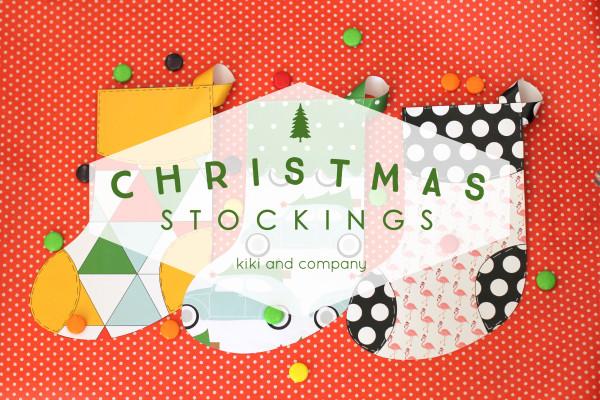 Christmas Stockings from kiki and company