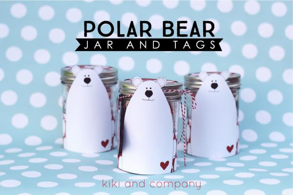 Polar Bear Jar and Tags