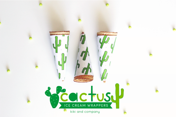 cactus party printables from kiki and company. So cute!