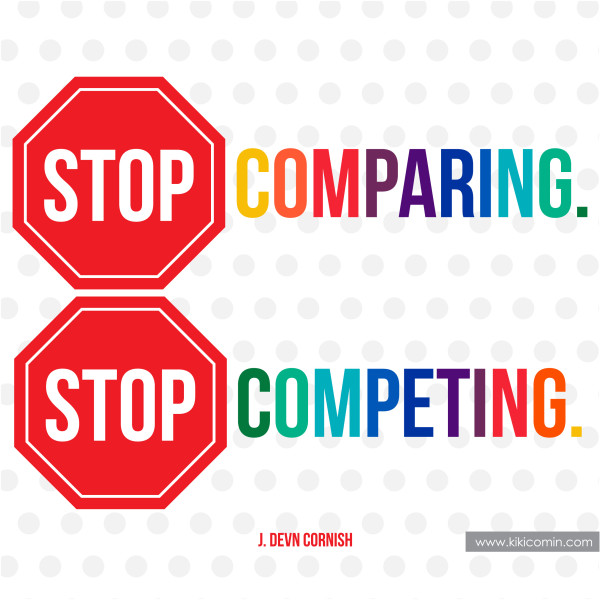 stop-comparing