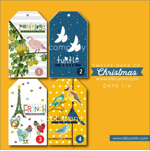 twelve-days-of-christmas-days-1-4