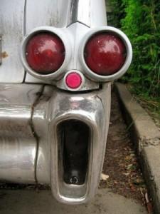 Spooky Car Bumper
