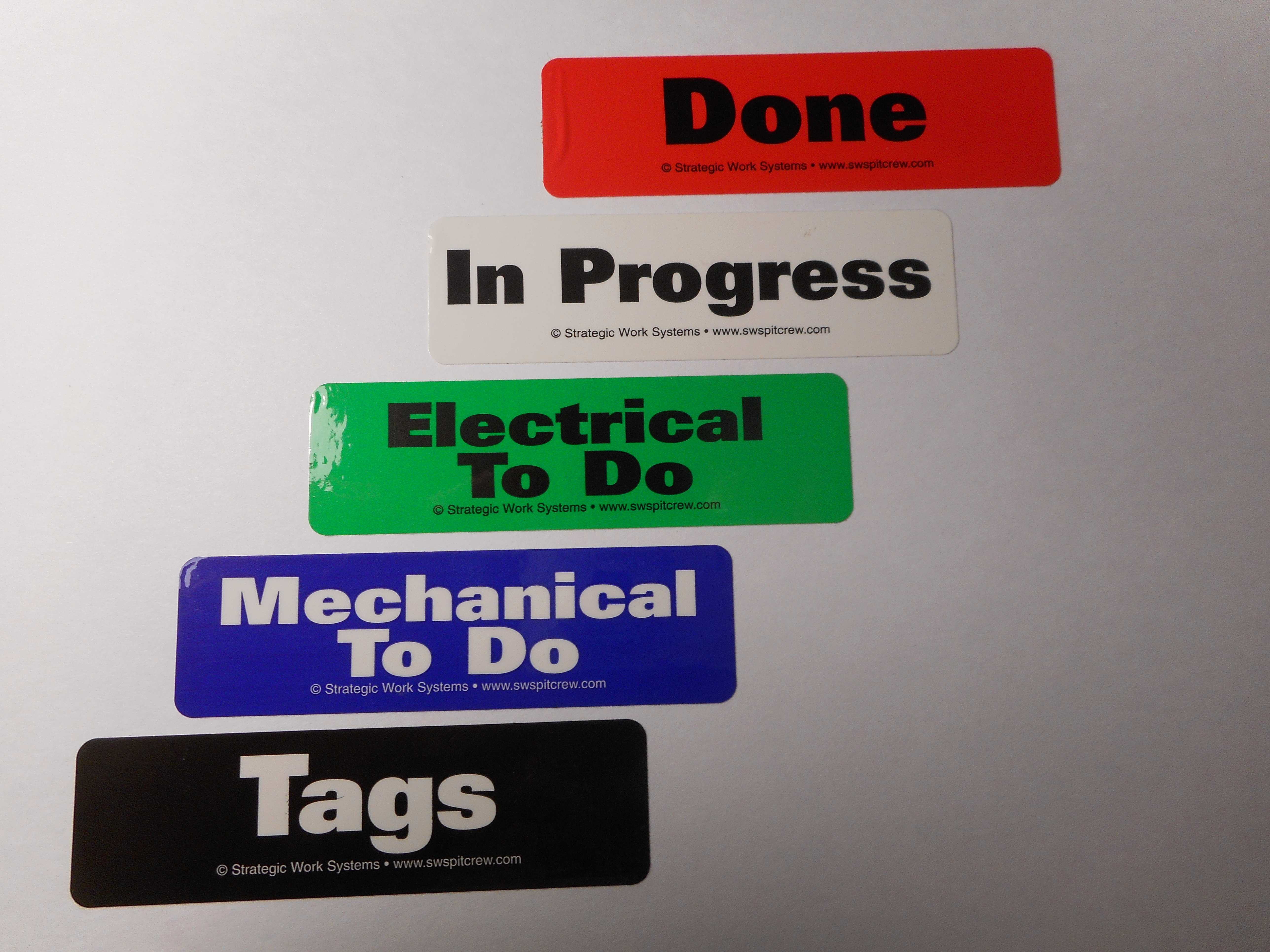 Tag Pocket Labels (Set of 5)